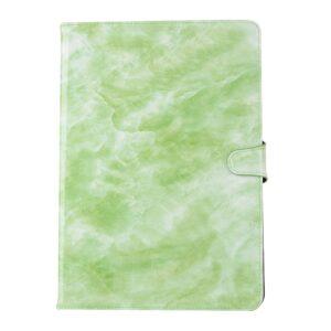 Apple iPad Air 2019 / iPad Pro 10.5 PU læder Flipcover m. Kortholder – Grøn Marmor
