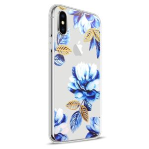 Apple iPhone X Design TPU Cover – Blomst 1