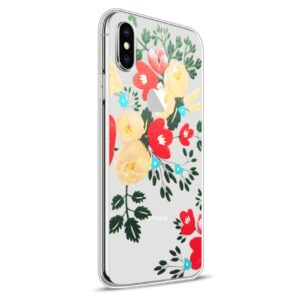 Apple iPhone X Design TPU Cover – Blomst 2