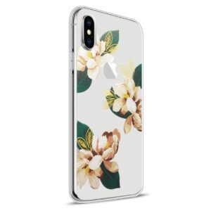 Apple iPhone X Design TPU Cover – Blomst 4