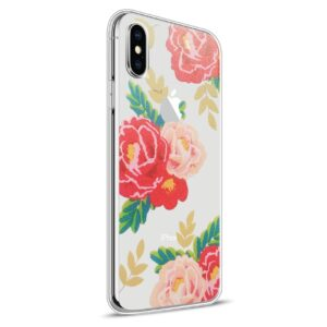 Apple iPhone X Design TPU Cover – Blomst 5