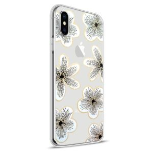 Apple iPhone X Design TPU Cover – Blomst 6