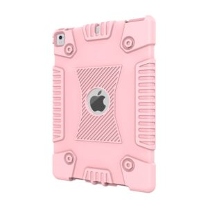 Apple iPad 9.7 2017/2018 Heavy Duty Cover – Lyserød