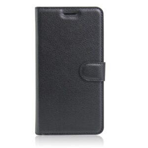 Apple iPhone 7/8 PU læder FlipCover m. Kortholder – Sort