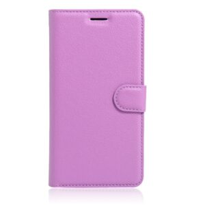 Apple iPhone 7/8 Litchi FlipCover m. Kortholder – Lilla