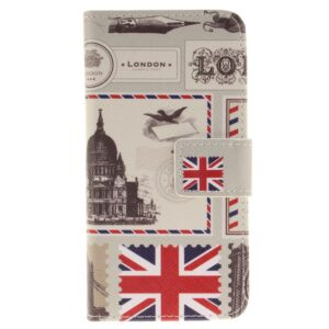Apple iPhone 7/8 PU læder FlipCover m. Kortholder – London