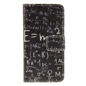 Apple iPhone 7/8 PU læder FlipCover m. Kortholder – Math