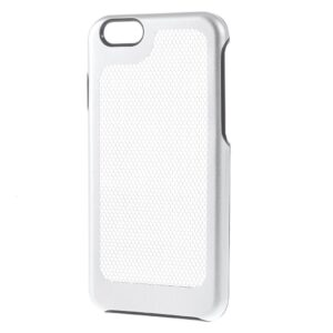 Apple iPhone 7/8 Plastik Udluftnings Cover – Sølv