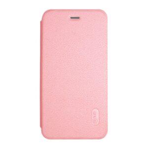 Apple iPhone 7 LENUO læder FlipCover – Pink