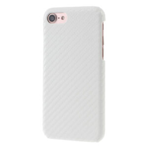 Apple iPhone 7/8 InCover PU læder Cover – Hvid Carbon