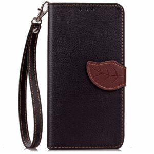 Apple iPhone 7/8 PU læder FlipCover m. Bladlukning – Sort/brun