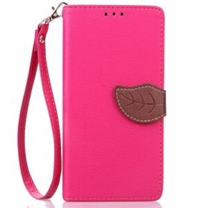 Apple iPhone 7/8 PU læder FlipCover m. Bladlukning – Rosa/brun