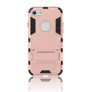 Apple iPhone 7/8 TPU Hybrid Cover – Rosa/guld