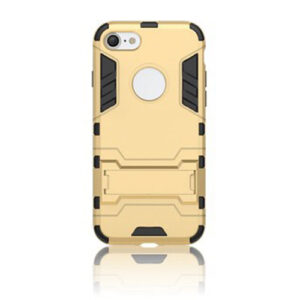 Apple iPhone 7/8 TPU Hybrid Cover – Guld
