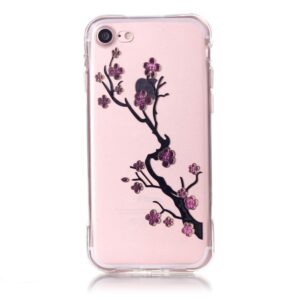 Apple iPhone 7/8 InCover TPU Cover – Plum Blossom
