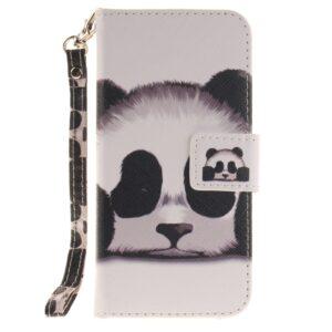 Apple iPhone 7/8 PU læder FlipCover m. Stand – Panda