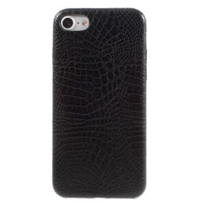 Apple iPhone 7/8 PU læder Cover – Sort krokodille