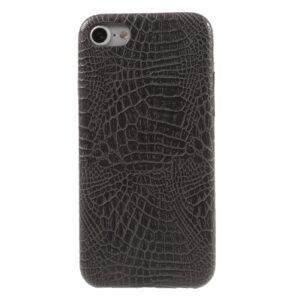 Apple iPhone 7/8 PU læder Cover – Grå krokodille