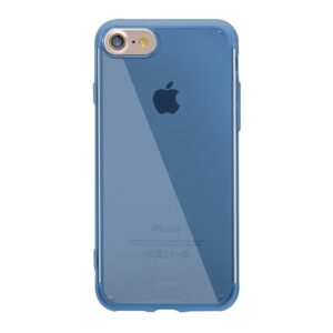 Apple iPhone 7/8 TPU Transparent Cover – Blå