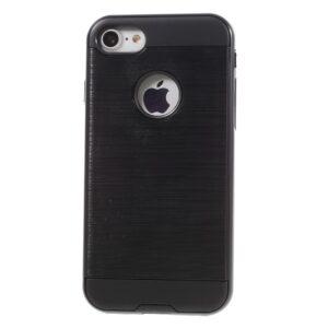 Apple iPhone 7 Børstet TPU Cover – Sort