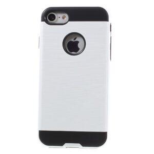 Apple iPhone 7 Børstet TPU Cover – Hvid