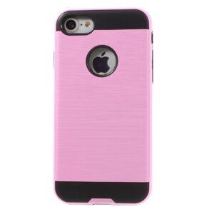 Apple iPhone 7 Børstet TPU Cover – Pink
