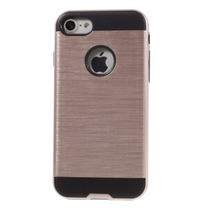 Apple iPhone 7 Børstet TPU Cover – Rosa/guld