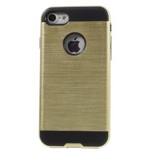 Apple iPhone 7 Børstet TPU Cover – Guld