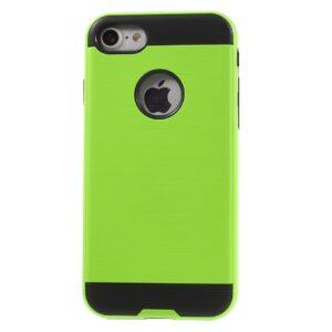 Apple iPhone 7 Børstet TPU Cover – Grøn
