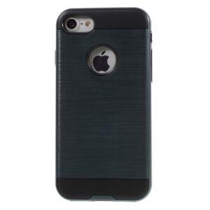 Apple iPhone 7 Børstet TPU Cover – Mørk blå