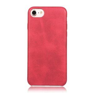 Apple iPhone 7/8 PU læder Cover – Rød
