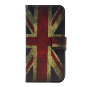 Apple iPhone 7 PU læder FlipCover m. Stand og Kortholder – UK Flag