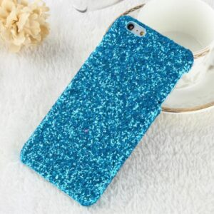 Apple iPhone 7/8 Bling Plastik Cover m. Glimmer – Blå