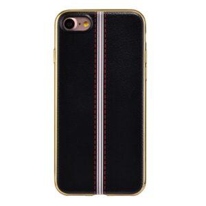 Apple iPhone 7 HOCO Premium TUP/læder Cover – Sort