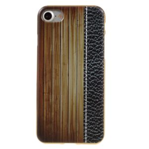 Apple iPhone 7/8 TPU Cover – Beige Trætekstur