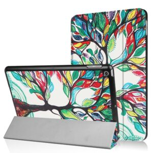 Apple iPad 9.7 2017/2018 Smart Cover m. Stand – Colored Tree