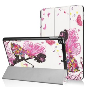 Apple iPad 9.7 2017/2018 Smart Cover m. Stand – Flowered Fairy