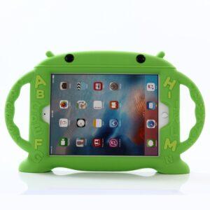Apple iPad 9.7 2017/2018 Silikone Cover til Børn – Grøn