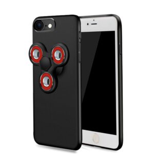Apple iPhone 7/8 Fidget Spinner Cover – Sort