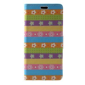 Apple iPhone X/XS PU læder Flipcover m. Kortholder – Mønster 2