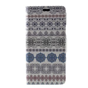 Apple iPhone X/XS PU læder Flipcover m. Kortholder – Mønster 4