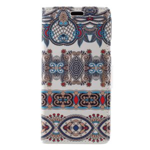 Apple iPhone X/XS PU læder Flipcover m. Kortholder – Mønster 6