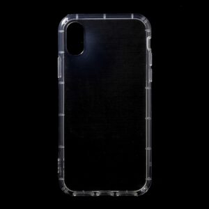 Apple iPhone X/XS TPU Hybrid Anti-Slip Cover – Gennemsigtig