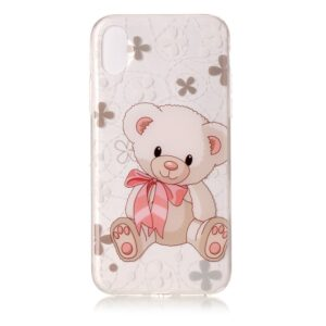 Apple iPhone X/XS TPU Cover – Sød Bamse