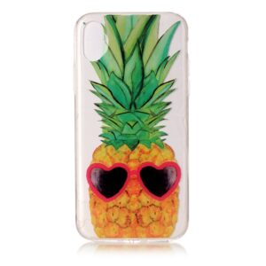 Apple iPhone X/XS TPU Cover – Ananas