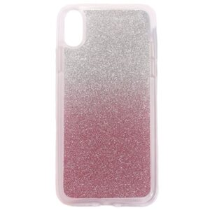 Apple iPhone X/XS TPU Cover m. Glimmer – Pink