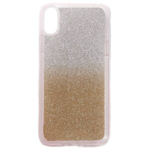 Apple iPhone X/XS TPU Cover m. Glimmer – Guld