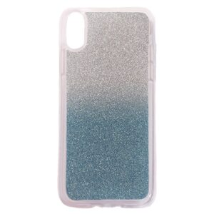 Apple iPhone X/XS TPU Cover m. Glimmer – Blå