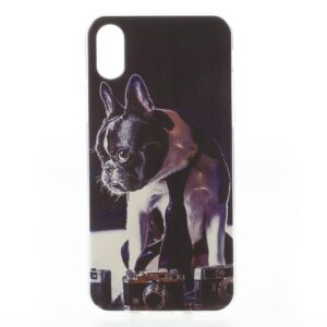 Apple iPhone X/XS TPU UV Print Cover – Hund