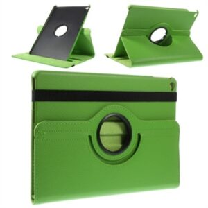Apple iPad Air 2 Rotating Litchi Smart Cover Stand – Grøn